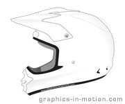 Download Designvorlage Motorrad-Sport CrossIntegralhelm
